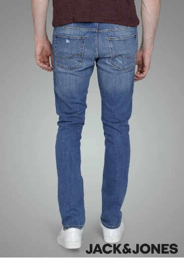 Jack Jones Skinny fit LIAM 820 Jeans with used details