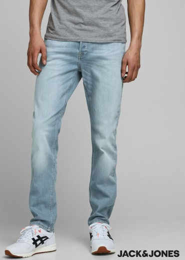 Jack & Jones – Liam Original AM 202 Skinny Fit Jeans