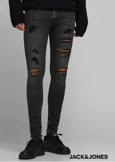 Jack & Jones – Super Skinny Jeans TOM Originals 402