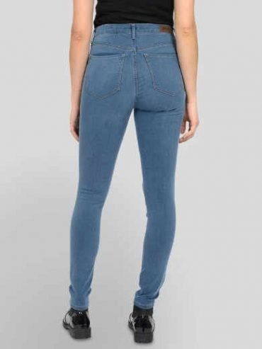 ONLY – Global 1894 High Waisted Skinny Fit Jeans