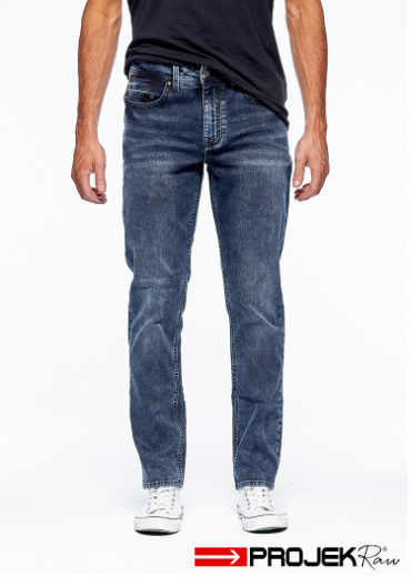 Prokek Raw – Nikko Slim Fit Blue Stone Wash Jeans