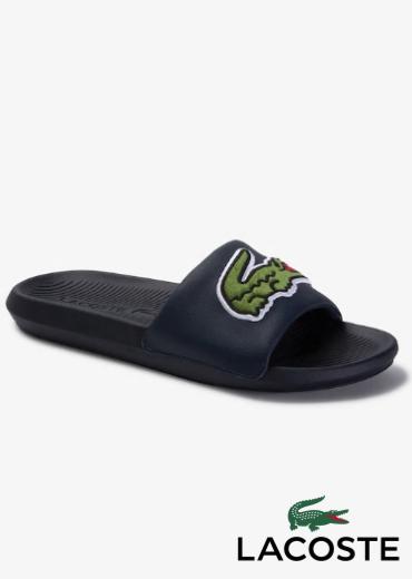 LACOSTE – Croco Slides