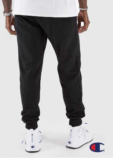 CHAMPION – Powerblend Fleece Joggers, Vertical Logo