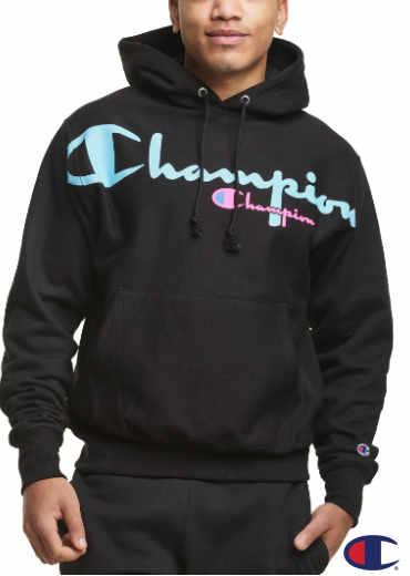 CHAMPION – Reverse Weave Hoodie, Script Logos