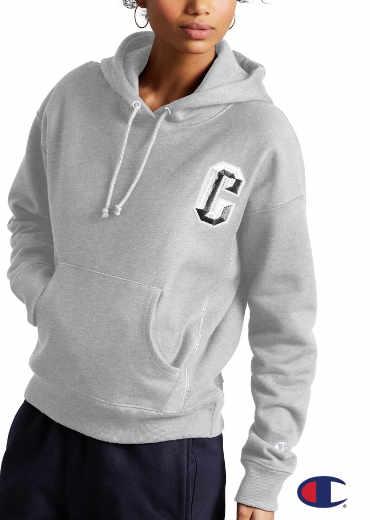 CHAMPION – Reverse Weave Pullover Hoodie, Floss Stitch C Logo