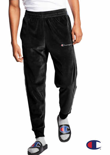 CHAMPION – Velour Track Pants