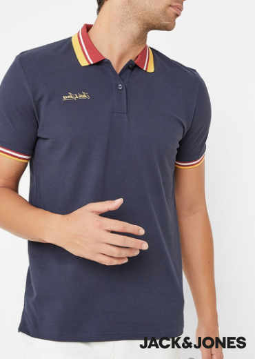 JACK & JONES – Dusai Polo T-Shirt