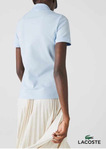 LACOSTE – Stretch Cotton Piqué Polo