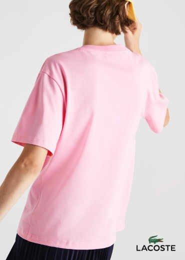 LACOSTE – V-neck Premium Cotton T-Shirt
