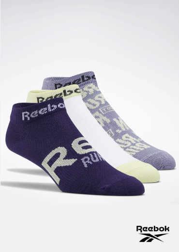 REEBOK – Run Club Socks 3 Pairs
